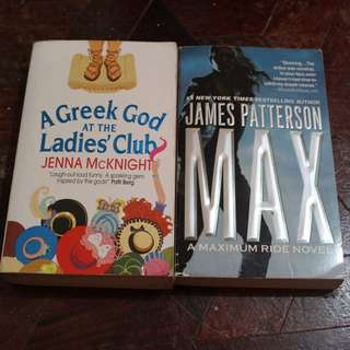 James Patterson and Jenna Mcknigjt