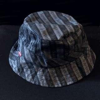 Supreme FW14 Crusher Hat - bucket hat 漁夫帽 - cap
