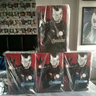 Hottoys Marvel Avengers IronMan mark vii
