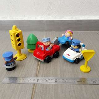 Fisher Price Little People Cars Set