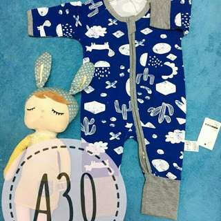 Bonds Inspired sleepsuit