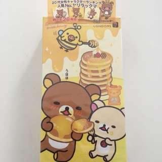Rilakkuma 鬆弛熊 Okamoto Condom 避孕套 一盒10個