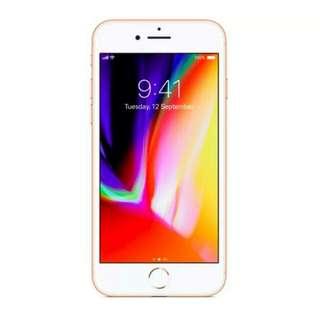 ( KREDIT TANPA DP DAN BUNGA 0% ) APPLE iPhone 8 - 64 GB (Gold)