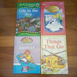 English story books bundle
