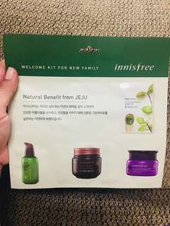 Innisfree! Welcome Kit