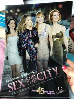 Sex and the city A4 folder