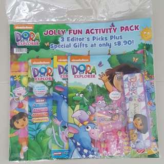 Dora Activity Books