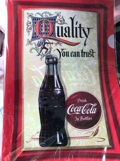 Coca Cola A4 folder