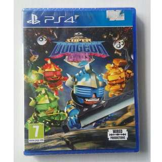 Kaset BD PS4 Original New Game Super Dungeon Bros