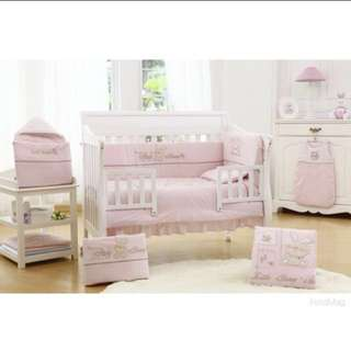 New! Crib/Cot Bedding Set