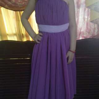 Purple Gown for Kids
