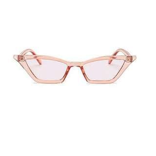 Stylish Vintage Cateyeglasses with Case