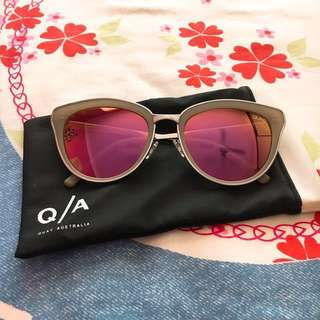 Quay Pretty Little Thing Pink Sunglasses