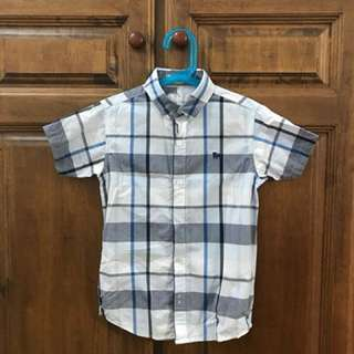 Boys' short sleeves shirt 8yo