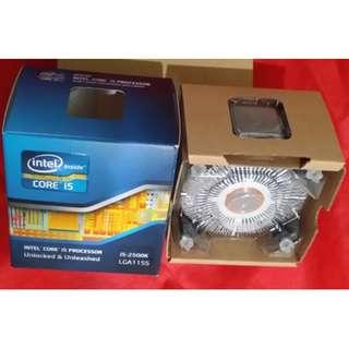 Intel® Core™ i5-2500k Processor 6M Cache, up to 3.70 GHz