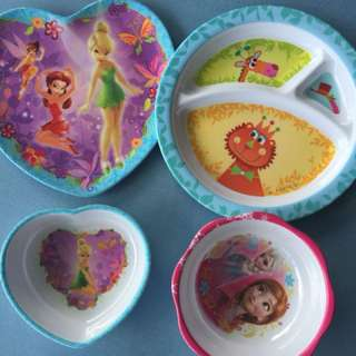 Kids plates and bowls