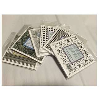 "Impression Obsession – 5.75""x5.75"" Cover-A-Card Rubber Stamps"