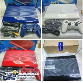PS3 SS PS3 Superslim PS3 Super Slim Full Game CFW - 2 Stik 500gb Fullgame Terlariss