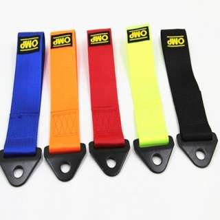 OMP Brand Towing Rope Thicker Nylon Strap For Car
