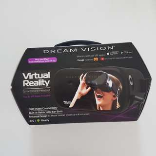 Dream vision virtual reality goggles