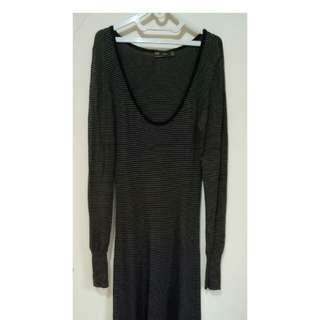 #horegajian zarra long dress bahan sweater