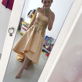 Costume made party dress