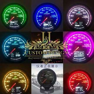 GREDDY meter 7 colour 2in1 function