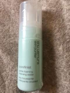 Shu uemura skin purifier  gentle foaming cleaning water