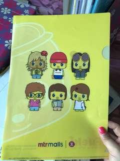 Japan A4 folder Fueki