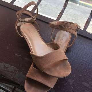 Parisian Ladies Vendi Flat Sandals (khaki)