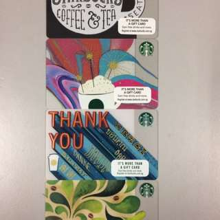 Limited edition Starbucks card with $40 credit at 10% Discount