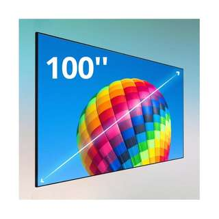 VIEWSONIC BCP100 100-INCH HOME THEATER SCREEN FOR ULTRA SHORT THROW PROJECTORS