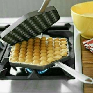 Cetakan Kue Egg Waffle Maker bapel hongkong