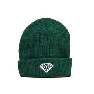 Diamond supply co. Beanie dark green