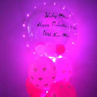Express your love balloon customise balloon personalise balloon