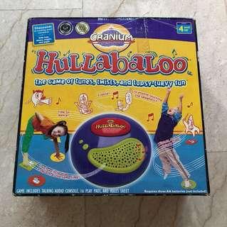 Cranium - Hullabaloo , interactive game, Game of the year award. Great fun for kids 4 and up