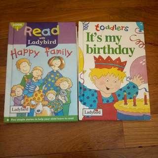 Ladybird english books