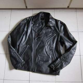 全新New(面交/順豐)日本GU Leather Biker Jacket機車皮褸zara h&m uniqlo