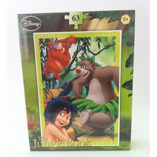SKU#L00330	Children Puzzle, Jungle Book, 63 Tiles