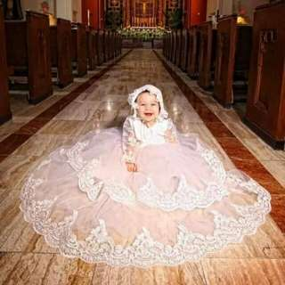 Baptismal gown 2layer