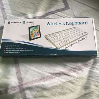 藍芽 無線鍵盤 全新 wireless keyboard