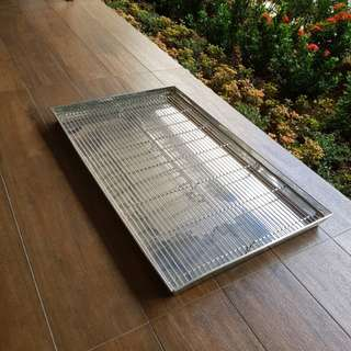 Stainless steel pet toliet tray