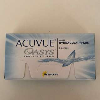BN 3x Acuvue Oasys Contact Lens