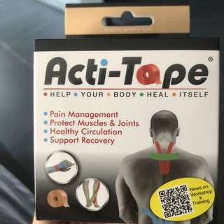 Kinesiology Tape Acti-tape in Nude