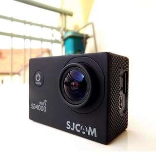 SJCAM SJ4000 WiFi 12MP Full HD Action Camera (Black)