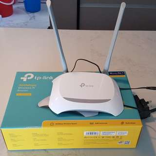 TP-Link Wireless N Router TL-WR840N
