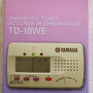 Yamaha chromatic tuner