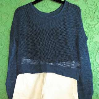 Knitted Croptop Pullover