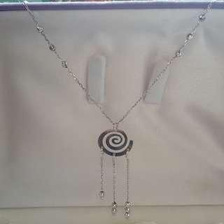 18K white gold necklace(non nego)