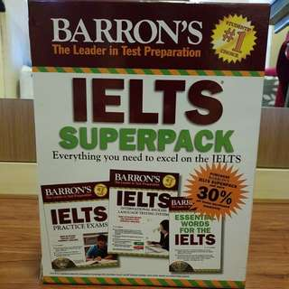 IELTS SUPERPACK by: BARRON'S